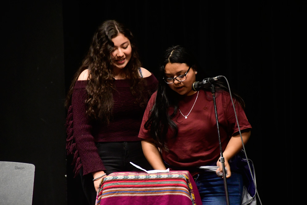 Denny Students read their poems on May 16th at Chief Sealth Little Theater