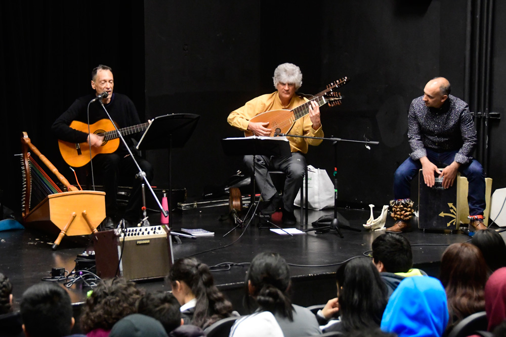 Trio Guadalevin performs at Chief Sealth Little Theater